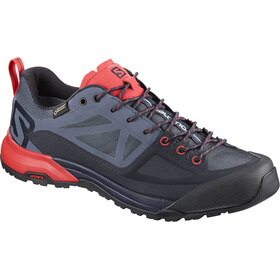 Salomon W's X Alp SPRY GTX Shoes Graphite/Crown Blue/Poppy Red